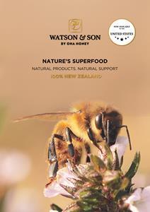 Oha Honey, one of New Zealand's leading producers of premium Manuka honey, is bringing its global flagship brand, Watson & Son, to the United States.