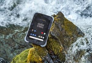 The Cedar™ CT8X2 Rugged Tablet from Juniper Systems Limited, rated IP67, runs on the Android™ 10 operating system, and is built for versatile, affordable data collection for field workers in many industries. 13 July 2021