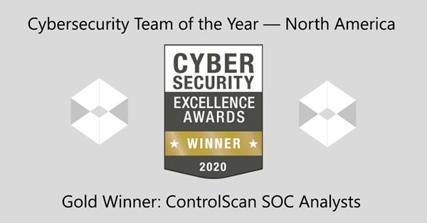 2020 Cybersecurity SOC Team Award_LinkedInFaceboook