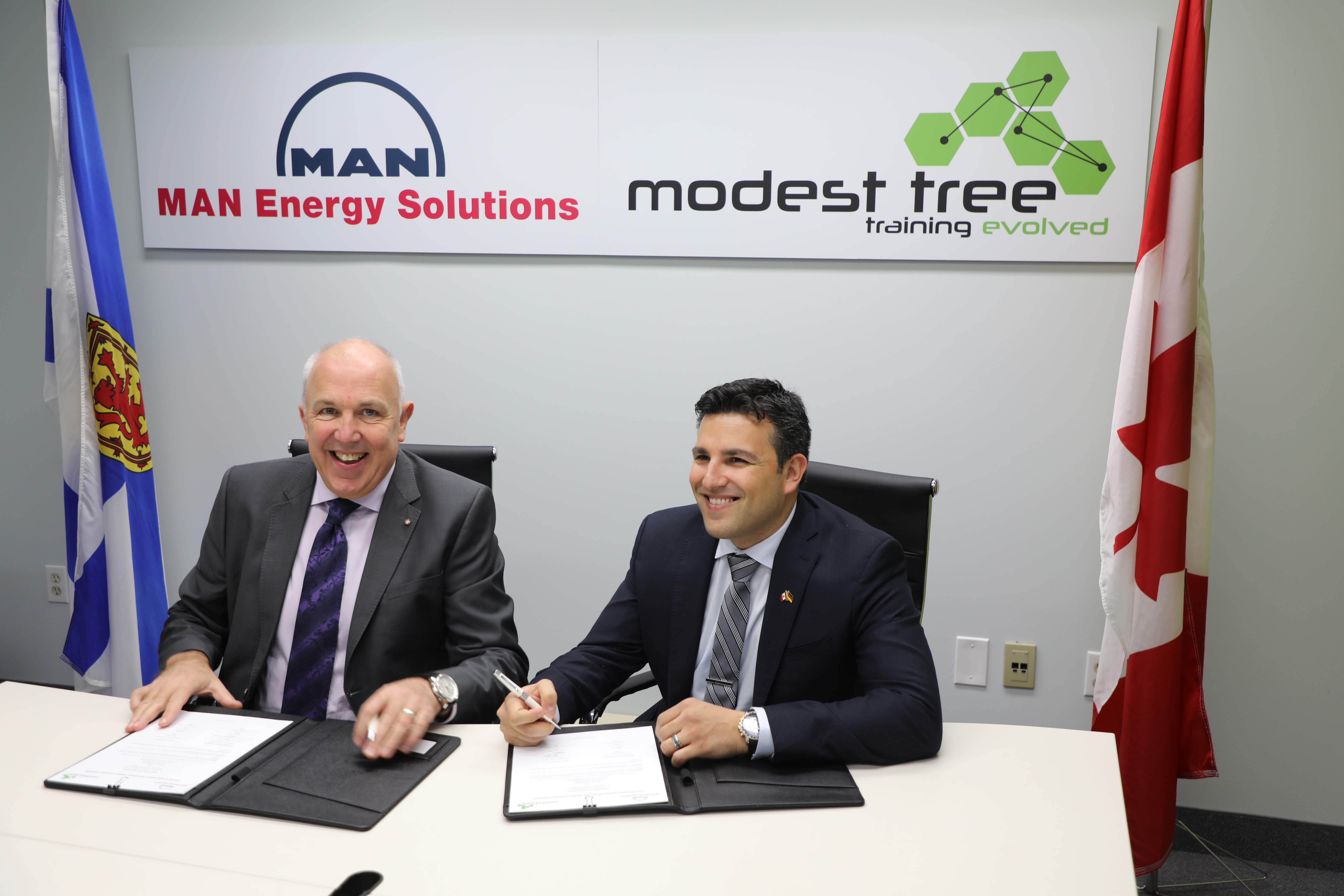 MAN selects Nova Scotia's Modest Tree to provide virtual reality training for Canada's Arctic and Offshore Patrol Ship engines