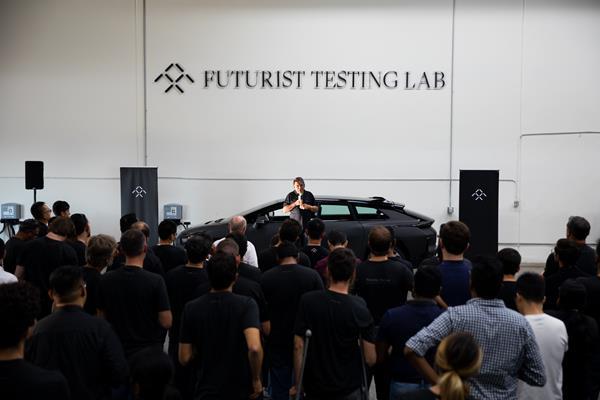 919 FF Futurist Testing Lab