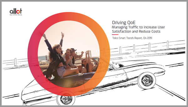 Cover: Allot Research Report - Driving QoE