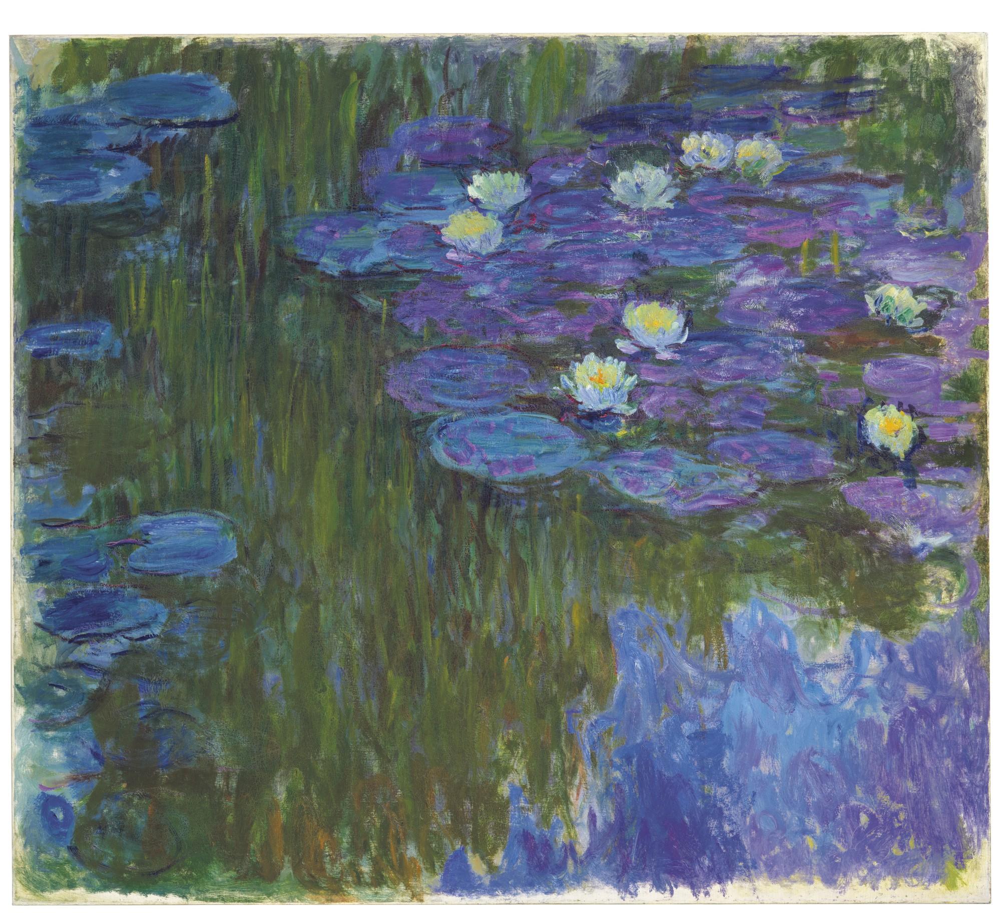 Claude Monet_Nymphéas en fleur