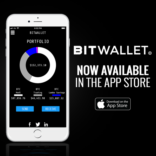 BitWallet for iOS