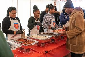 Community Partners in Flatbush Host Free Thanksgiving Luncheon for Those in Need