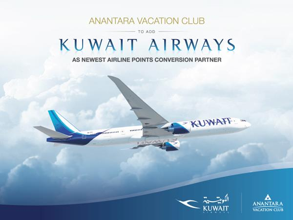 Anantara Vacation Club-to add-Kuwait Airways