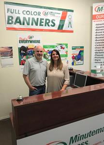 Minuteman Press Kent WA - Jeff and Dawn Brown
