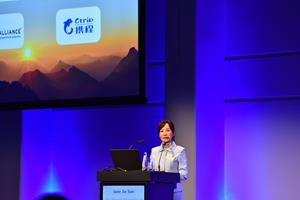 Jane Sun, CEO Ctrip International Ltd keynote at ITB Berlin