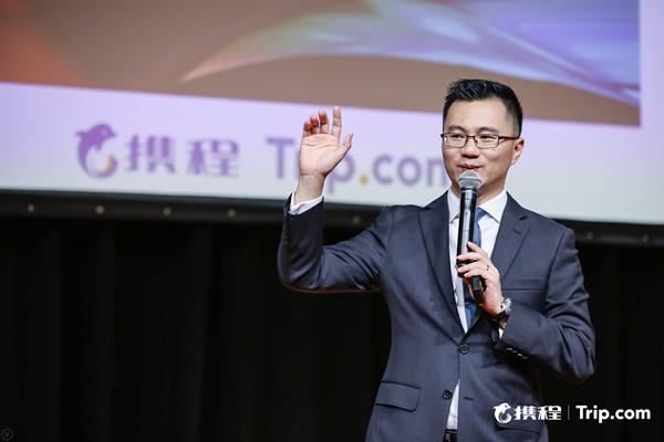 Trip.com General Manager of Destination Marketing Edison Chen Speaks at ITB Asia 2019
