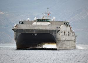 U S  Navy Awards Austal USA Contract for Expeditionary Fast