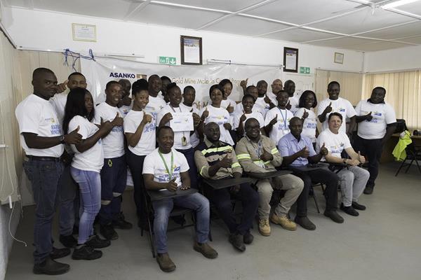 The Asanko Gold Malaria Safe Mine Champions