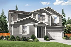 This large 5-bedroom, 3-bath home features a flex room downstairs and an additional upstairs bonus room.