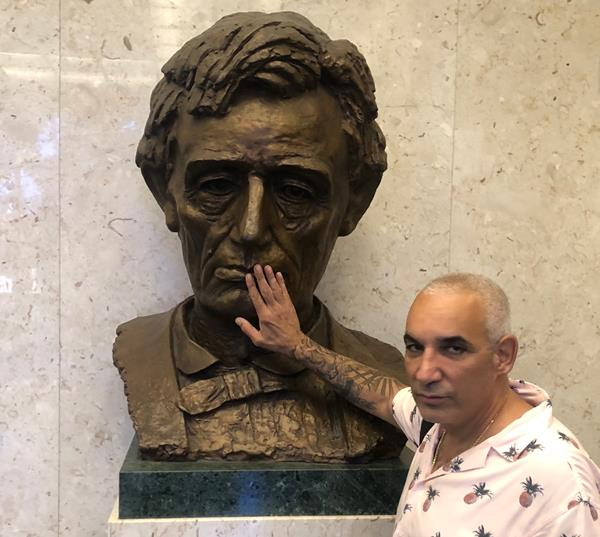 Alki David, CEO of FilmOn Networks at the Stanley Mosk courthouse in Los Angeles, November  2019. Credit: Courtesy of FilmOn.