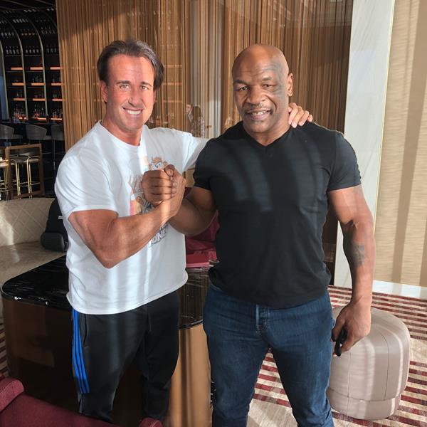 World champion Boxer Iron Mike Tyson
