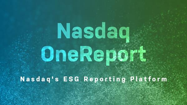 Nasdaq OneReport Banner