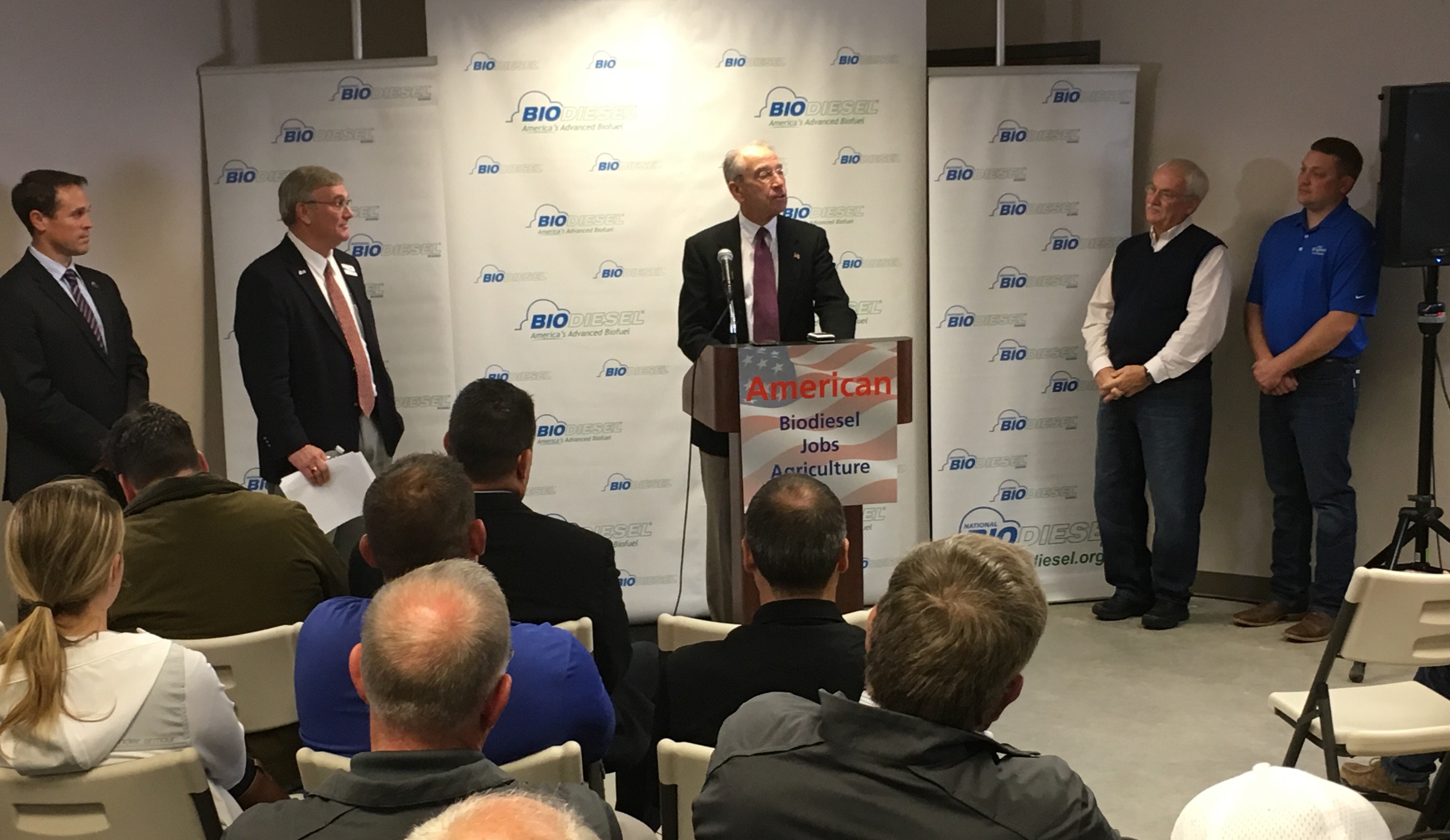 Grassley, Biodiesel Speak Out Against EPA Proposal
