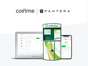 Coinme and Pantera Capital