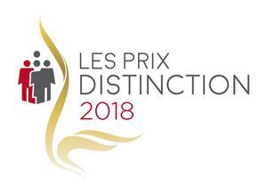 Logo des Prix distinction 2018 du RQRA