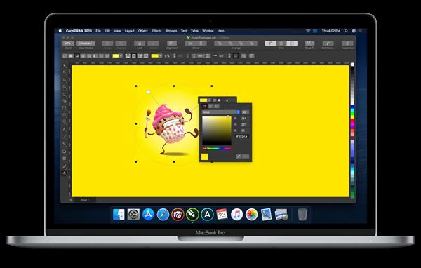 CorelDRAW Graphics Suite 2019 for Mac Update