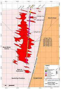 Infill Drilling Further Enhancing the Marathon Deposit, 1 41