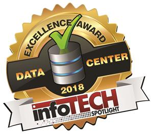 InfoTech Spotlight Data Center Excellence Award