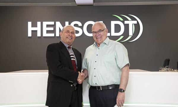 Thomas Müller (right) CEO of HENSOLDT