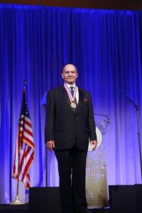Farooq Kathwari Receives Ellis Island Medal of Honor.