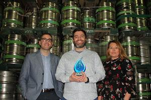 Steam Whistle Brewing Selected for CIPH National Water Wise