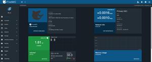 FreeNAS UI Screenshot smaller