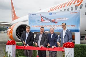 Boeing 737 MAX 8 joins Sunwing Fleet