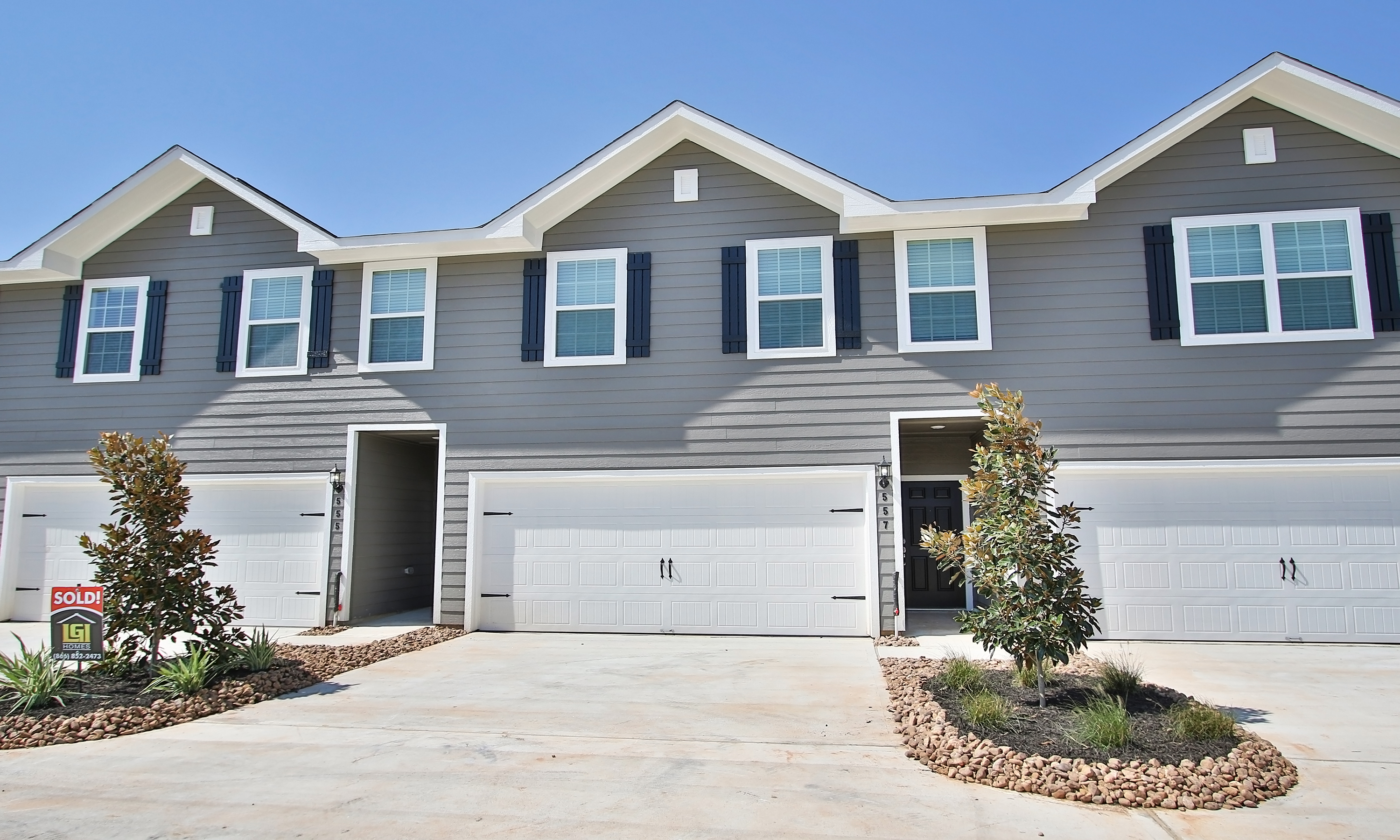 Windsor Estates townhomes by LGI Homes