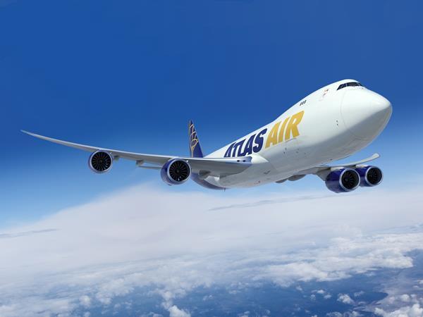 Atlas Air Boeing 747-8 Freighter