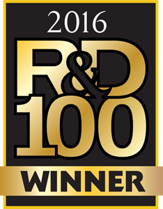 R&D 100 Award 2016 Winner Logo