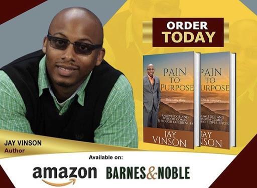jay vinson Pain to purpose book