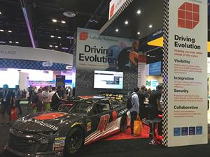 LaSalle Solutions Booth and Car_Cisco Live 2018