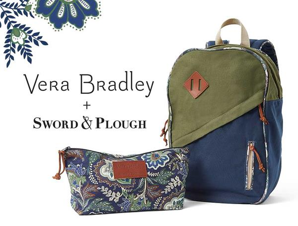 Vera Bradley + Sword & Plough Collaboration