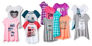 Justice Back-to-School T-shirts