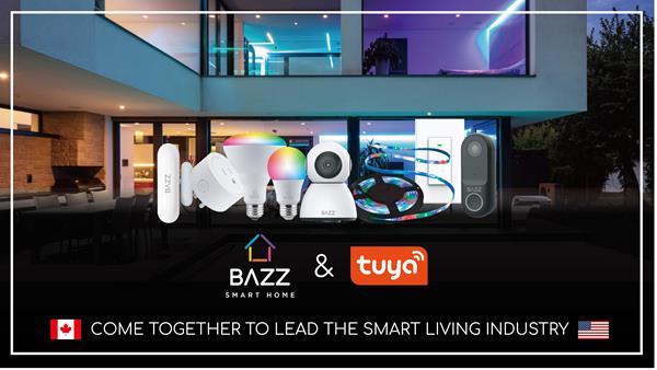 BAZZ Smart Home, Powered by Tuya.