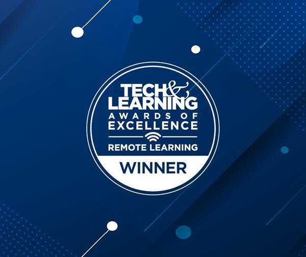 Tech & Learning Remote Learning Award Winner