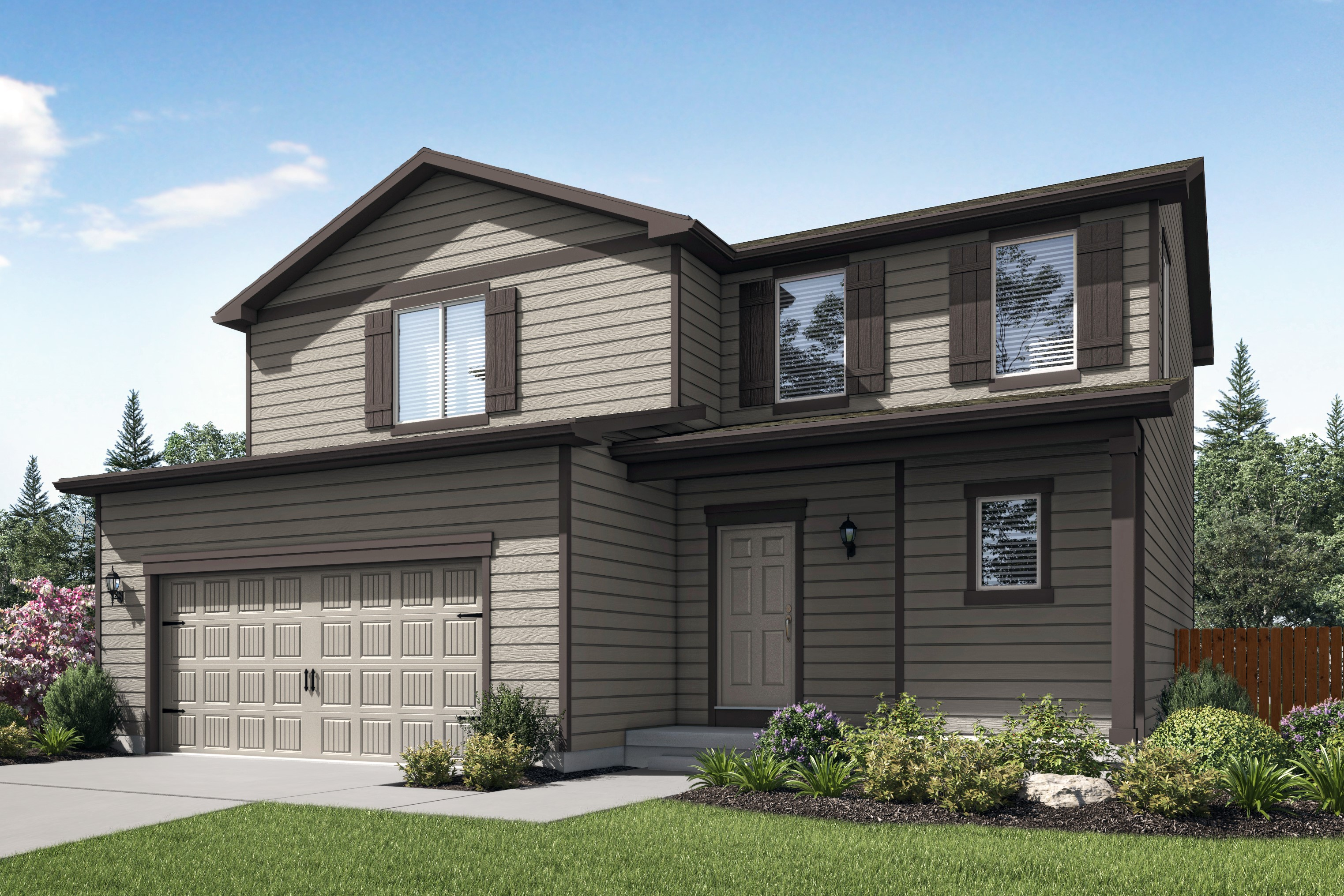 The Mesa Verde Plan by LGI Homes at Evans Place.