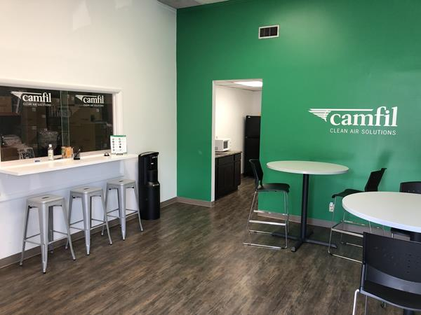 Camfil, USA Relocates  Nashville Branch  to a Larger Facility