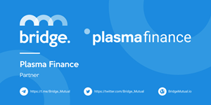 Decentralized insurance provider Bridge Mutual has reached an agreement with DeFi aggregator PlasmaPay and Plasma Finance.