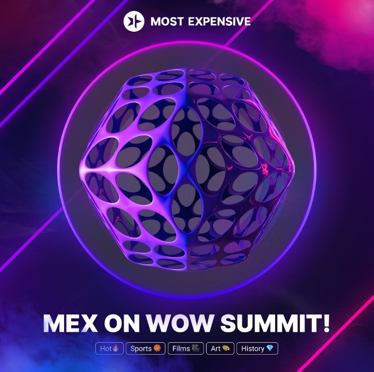 Mostexpensive Platform Official Launch on WOW Summit 1