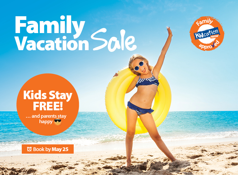 Family Vacation Sale