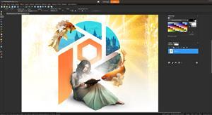 PaintShop Pro 2021 Ultimate Main UI
