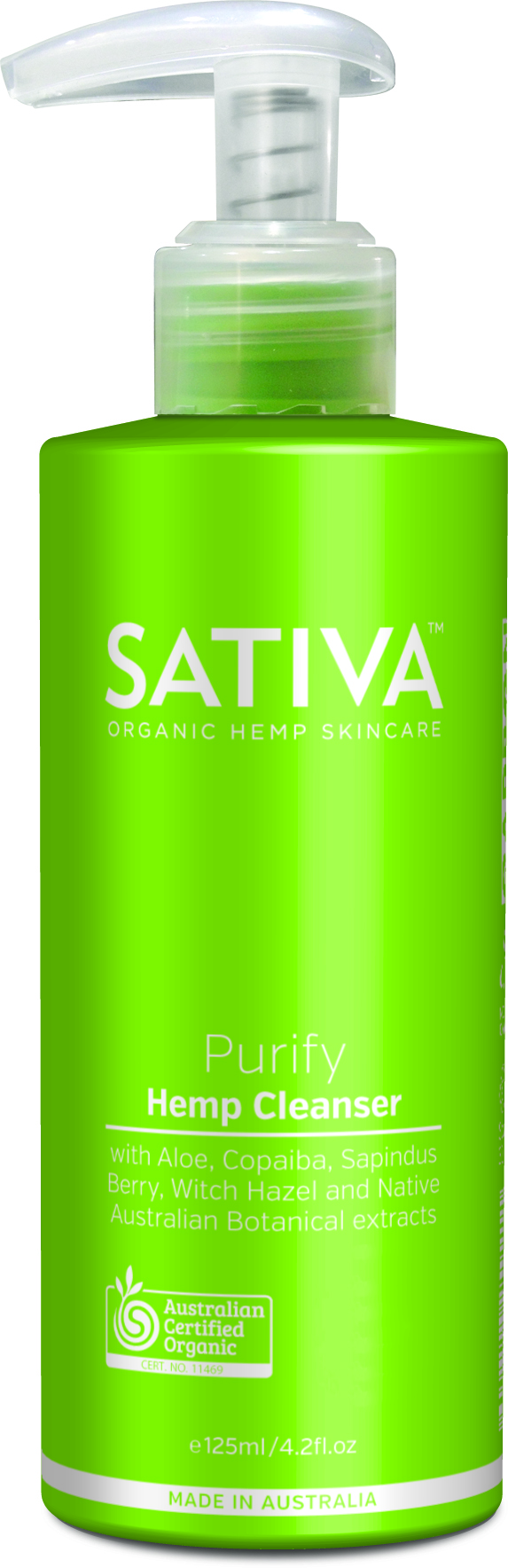 SATIVA Purify Hemp Cleanser