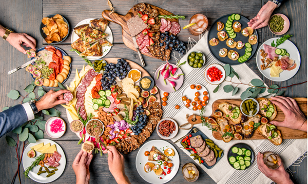 Three Little Pigs — Holiday Spread