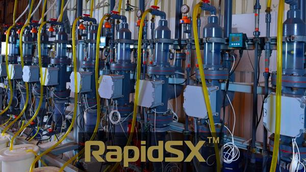 RapidSX™ REE Separation Pilot Plant
