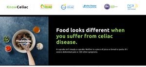 Celiac Disease Campaign Goes for the Gut with Provocative