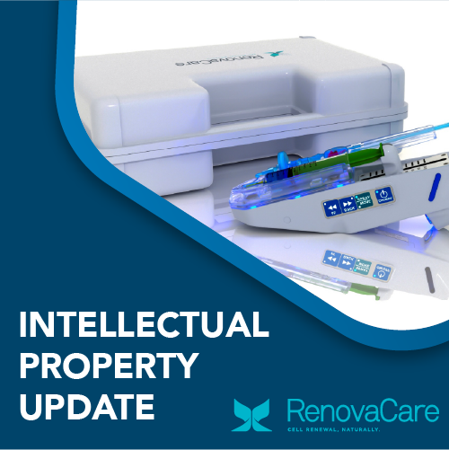 RenovaCare Intellectual Property Update